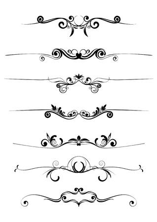 vector florale ornamenten