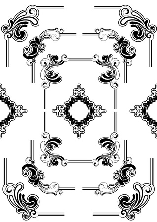 Abstract frame ontwerp