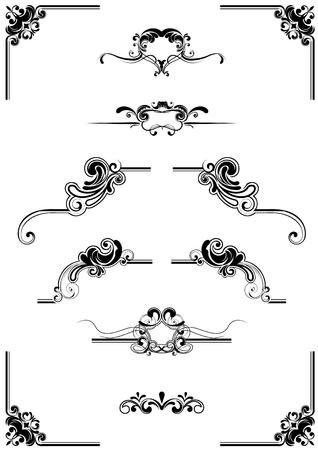 Abstracte elementen Stock Illustratie