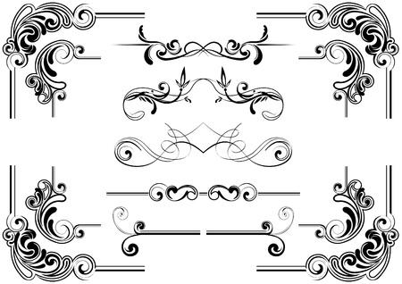 rococo: Scroll design