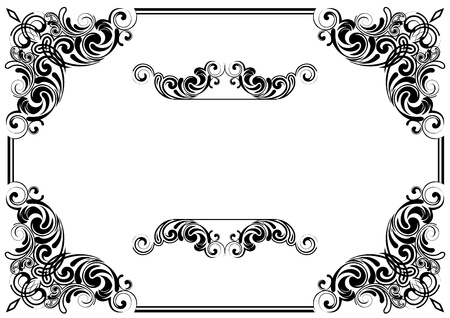 Corner design Stock Vector - 12205746