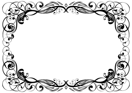 Ornament frame Stock Vector - 12205707