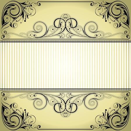 Label frame design Stock Vector - 12205689