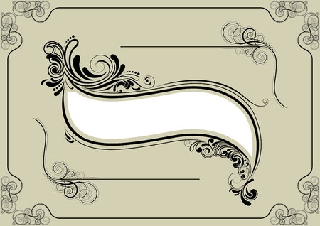 Frame design elements Vector