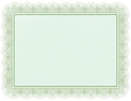 deed: Certificate document Illustration