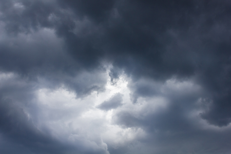 thunderstorm: Background of storm clouds before a thunder-storm