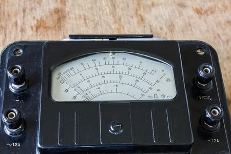 contador electrico: retro viejo medidor de electricidad para .voltmeter, amperímetro, ohmímetro, medidor de potencia electricista
