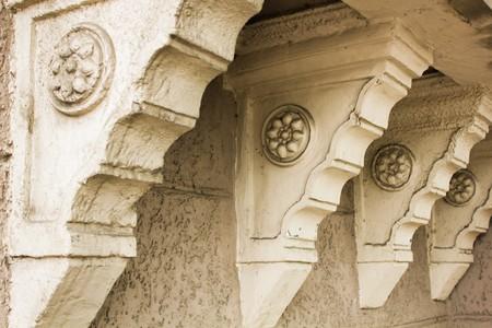 Beautiful old vintage architecture in Tbilisi, Georgia Reklamní fotografie