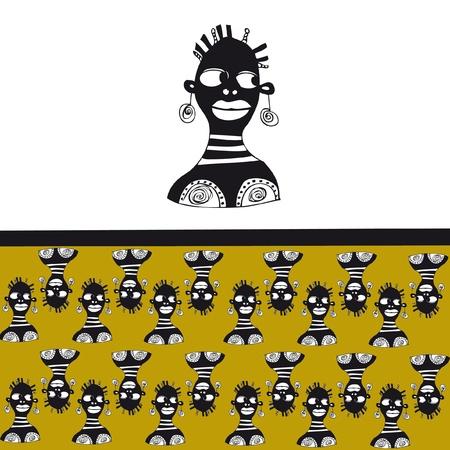 african texture Illustration