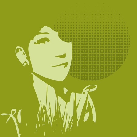 Green Life Illustration