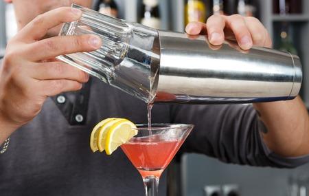 Barman Stockfoto