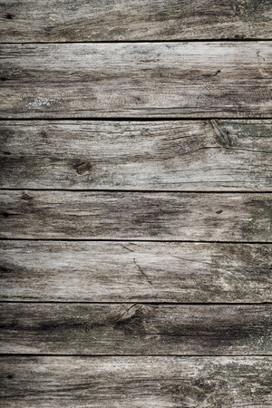 wood floor background: Wooden grey texture  looking obsolete and ragged, can be used as floor or table background