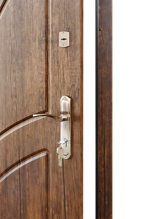 door handle: Open door handle.
