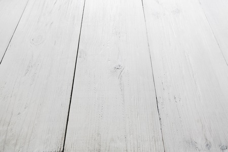 White Wood Table Texture And Background Painted