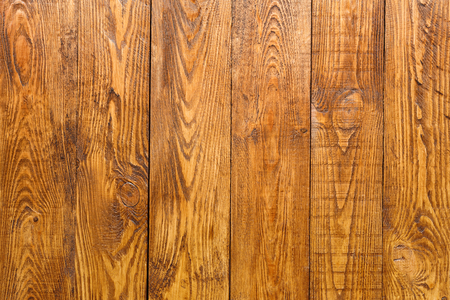 boarded: Wood plank brown texture background. Natural wooden timber, table surface. Light brown painted hardwood boarded wall Stock Photo