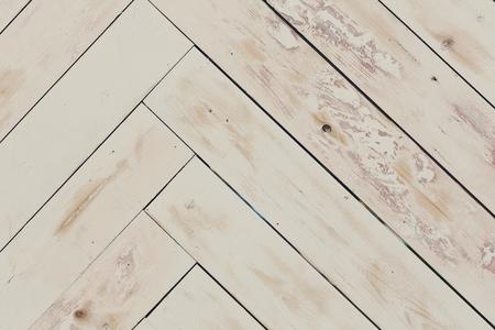 Fond de texture en bois, parquet peint grungy, motif en bois naturel, style rustique ou en mauvais état