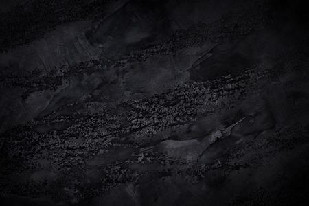 Fond texturé noir. Concept créatif d'obscurité
