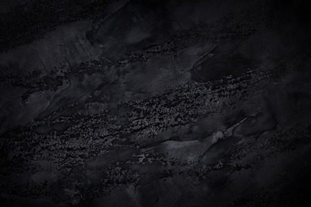 Fondo de textura negra. Concepto de oscuridad creativa