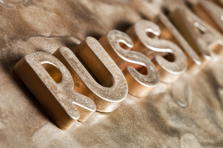 Russia Gold Letters 3D