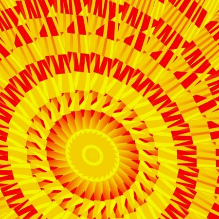 sun s: Mosaico dei soli - Mosaico in forma di movente del sole s