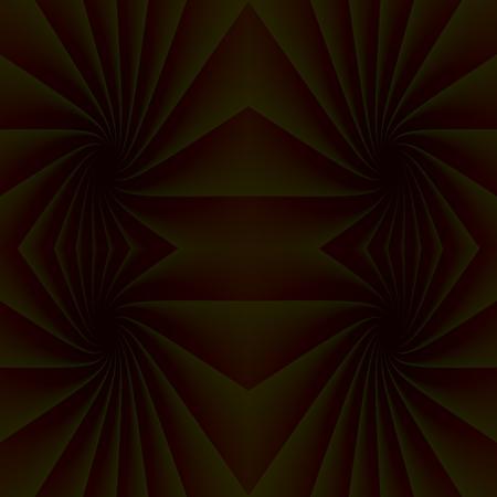 caida libre: Rincones oscuros - Las superficies curvas y oscuras est�n mutuamente entrelazados. Estas �reas son, al mismo tiempo en ca�da libre hacia abajo, en las profundidades oscuras. Foto de archivo
