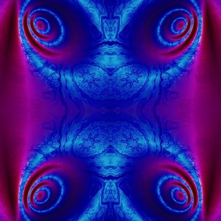 corazones azules: Patr�n de corazones azul