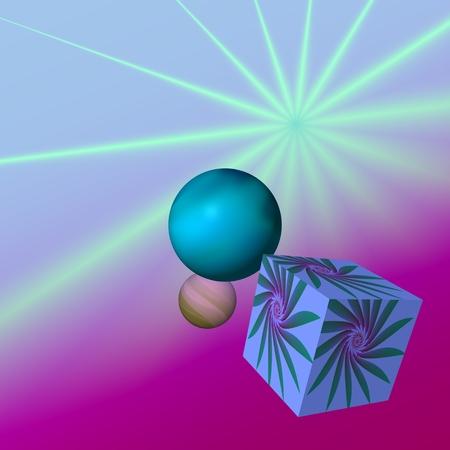 star life: El bodeg�n estelar - En la imagen de fondo son los rayos de luz, que est�n dispuestas en forma de estrella.