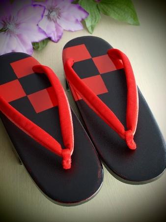 beautiful geta the Japanese footwear for kimono