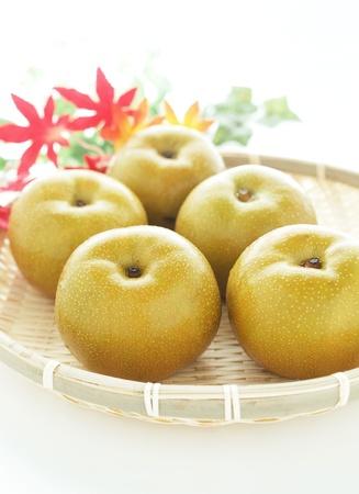 japanese fruit nashi pear