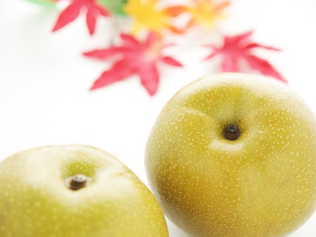 japanese fruit nashi pear photo