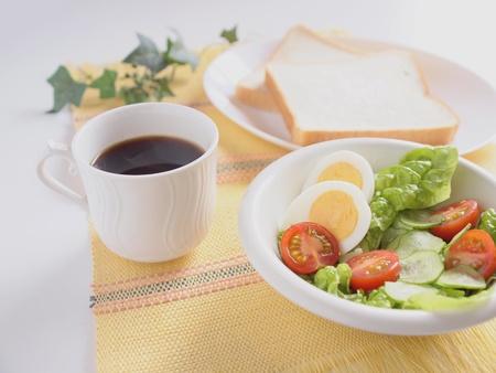 heathy breakfast salad photo