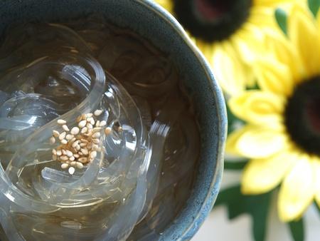 transparence: japanese healthy dessert tokoroten