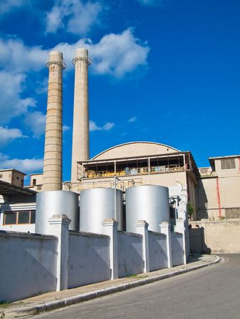 Factory: This is a steelworker factory situated in Monopoli. Apulia. photo