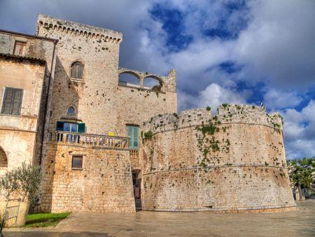 conversano: Tourism: This is the Aragonese Castle of Conversano. Apulia.