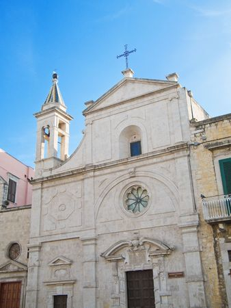 Religion: This is the St. Stefano Church of Molfetta in Apulia. photo