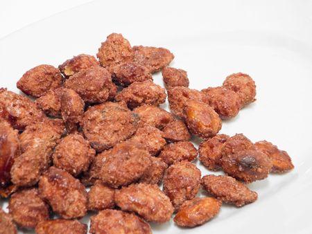 Sugared almonds.  Stock Photo