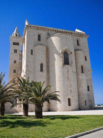 The Cathedral of Trani. Apulia.  photo