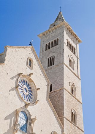 The Cathedral of Trani. Apulia.  photo