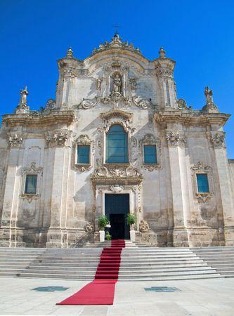 matera: St. Francesco dAssisi Church. Matera. Basilicata.