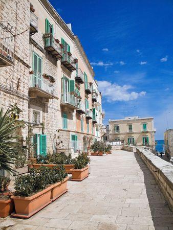 Observation Platform in Molfetta Oldtown. Apulia. Stock Photo - 6796094