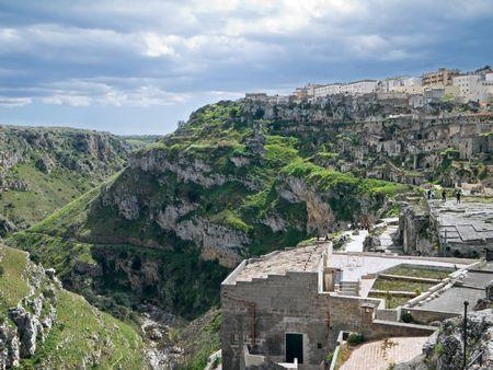 Landscape of Matera. Basilicata. photo