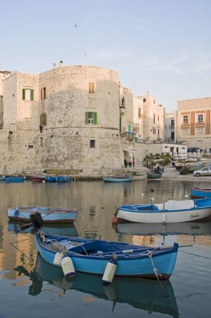 Landscape view of Giovinazzo. Apulia. photo