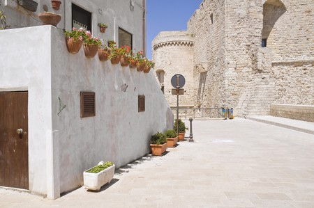 Monopoli Oldtown. Apulia. photo