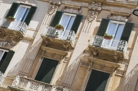 Palmieri Palace. Monopoli. Apulia. photo