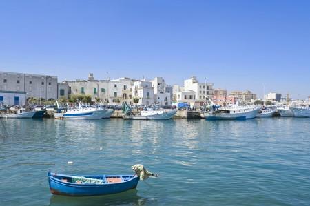 Touristic Port of Monopoli. Apulia. photo