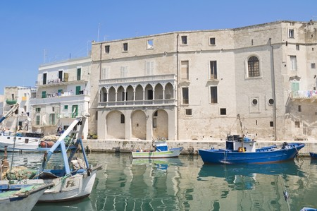 Monopoli Old Port. Apulia. Stock Photo - 6941885