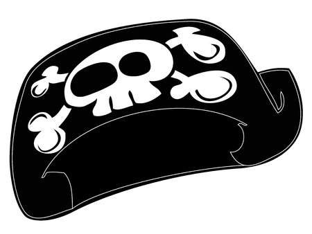 Pirate Hat. Vector