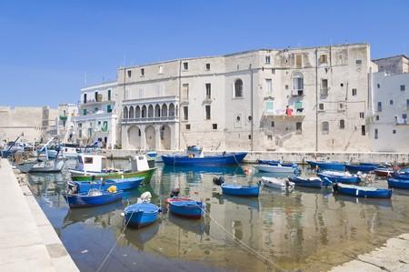 Monopoli Old Port. Apulia. photo