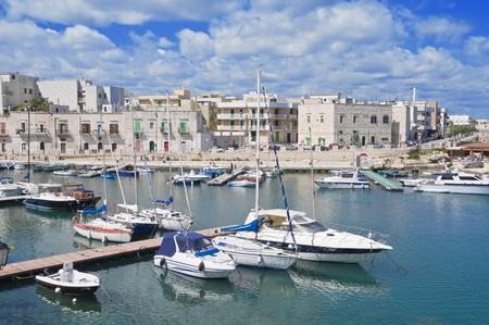 Giovinazzo touristic port. Apulia. photo