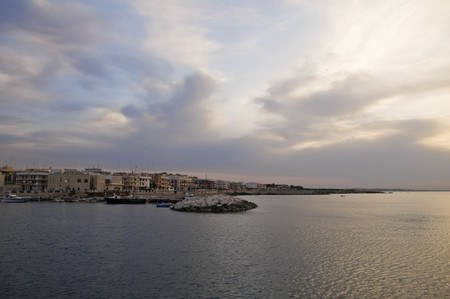 Giovinazzo touristic port. Apulia. photo